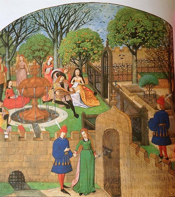 玫瑰传奇 魑魅魍魉中世纪 | 不要在中世纪花园里睡着